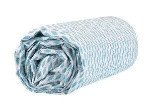 BLANC CERISE - peignoir col châle - coton peigné 450 g/m² sable - Fitted Sheet