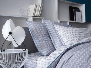 BLANC CERISE - peignoir col châle - coton peigné 450 g/m² blanc - Fitted Sheet