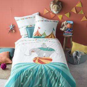 BLANC CERISE - -cirque des couleurs - Children's Bed Linen Set