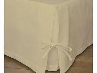 Liou - cache-sommier avec nouette lin - Bedskirt