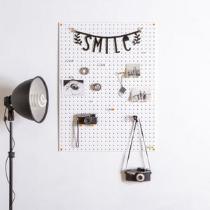 BLOCK DESIGN - pegboard large - Notice Board