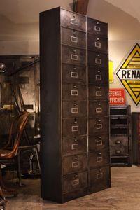 ANTIQUITÉS DESIGN -  - Drop Door Storage Cabinet
