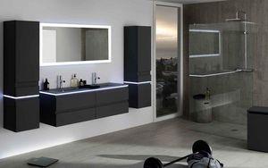 Sanijura - halo-- - Bathroom Furniture