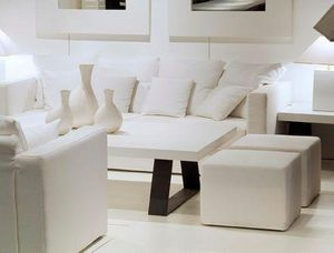 Ph Collection - tréteaux - Rectangular Coffee Table