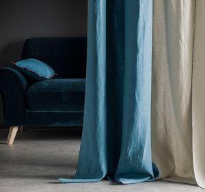 BLANC CERISE - autour du lin - Eyelet Curtain
