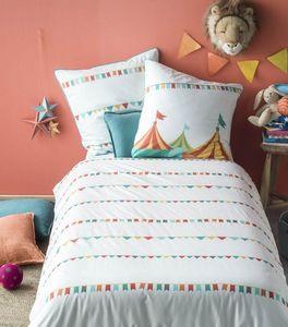 BLANC CERISE - cirque des couleurs - Children's Bed Linen Set