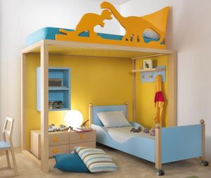 DEARKIDS - bunk- - Children's Bedroom 4 10 Years