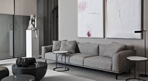 Meridiani - thimothy - 3 Seater Sofa