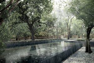 VINCENT VAN DUYSEN -  - Landscaped Garden