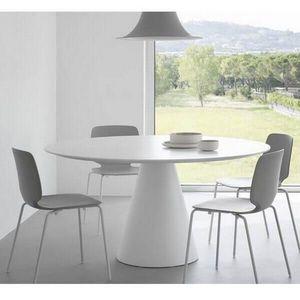 PEDRALI - table de repas ronde ikon pedrali - Round Diner Table