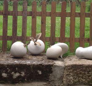 MANOLI GONZALEZ - nourricière-- - Natural Sculpture