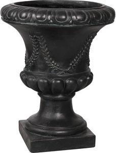 Aubry-Gaspard - vase antique en fibre de verre noir taille 3 - Medicis Vase