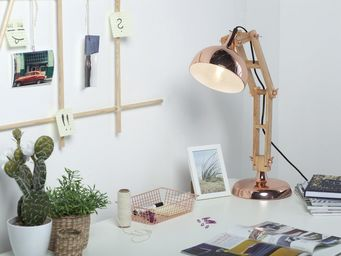 BELIANI - lampe de bureau - Desk Lamp