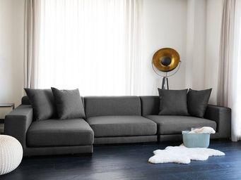 BELIANI - canapé réversible - Adjustable Sofa