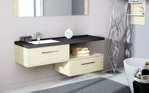 CHENE VERT -  - Bathroom Furniture