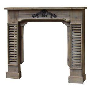 CHEMIN DE CAMPAGNE -  - Fireplace Mantel