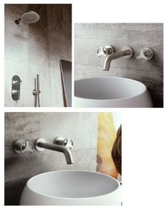 GRAFF - harley - Three Hole Basin Mixer