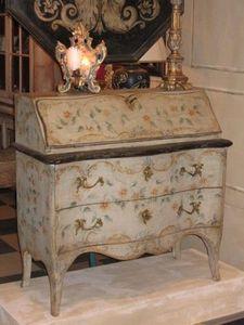 Terra Di Siena - secrétaire ribalta rivoli - Curved Desk