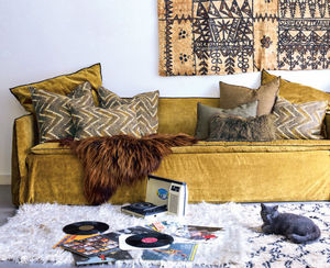 Maison De Vacances - zanzibar havane-- - Rectangular Cushion