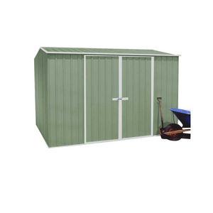 Metal garden shelter