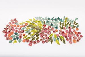 AUZOLLE FABIENNE -  - Ceramic Panel