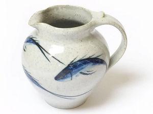 Robert Goldsmith: Selborne Pottery - ou crème - Milk Jug