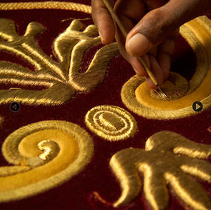 LESAGE INTÉRIEURS - opéra de monte carlo - Embroidery