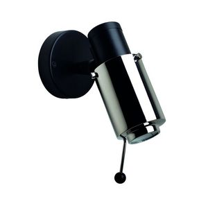 DCW EDITIONS - biny-spot orientable dimmable métal l19,8cm noir e - Light Spot