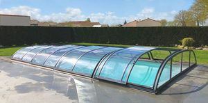 ABRINOVAL -  - Sliding/telescopic Pool Enclosure