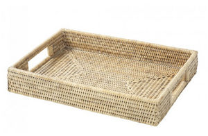 ROTIN ET OSIER - rectangulaire babeth - Serving Tray