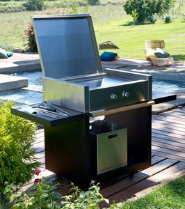 Unopiù - barby - Gas Fired Barbecue