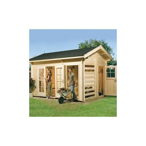 WEKA -  - Wood Garden Shed