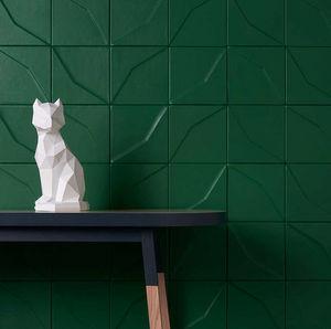 CUIR AU CARRE - diamant - Leather Tile