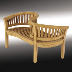 Lindsey Plantation Teak - love seat - Garden Bench