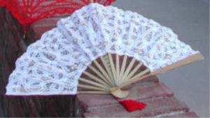 Lace Parasols -  - Fan