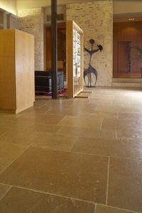 Occitanie Pierres - dallage auberoche chataigne rustique - Stone Tile