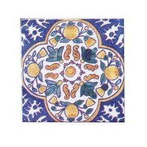 Les Dames De Faience - grenade - Wall Tile