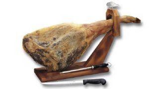 Paella Plancha - porte-jambon fixe  - Ham Holder