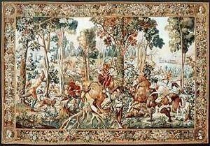 Amour D'orient - ecole de bruxelles - Classical Tapestry