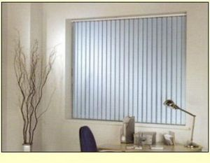 Rite Style -  - Blind With Vertical Stripes