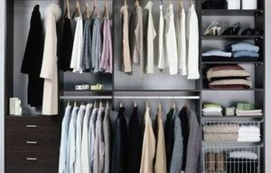 MANHATTAN CLOSETS -  - Straight Walk In Closet