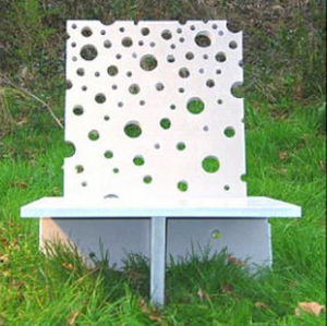 LA BETONNERIE -  - Garden Armchair
