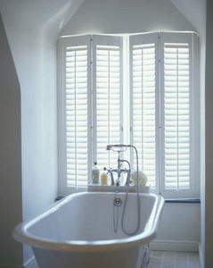 Jasno Shutters - shutters persiennes mobiles - Bathroom