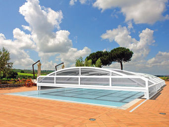 Abrideal - neo - Sliding/telescopic Pool Enclosure