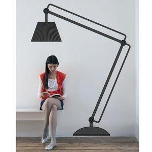 AUCHAN - lampe - Sticker
