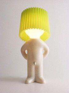 KADO OM DE HOEK - lamp mr. p green - Children's Table Lamp