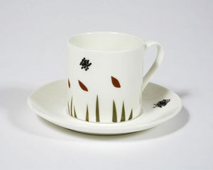 NADIA SPARHAM - windy day espresso cup and saucer - Coffee Cup