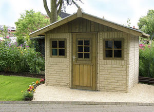 Beckers - cottage haus 3,00 x 2,00 m - Wood Garden Shed