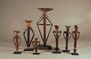 Galerie Olivier Castellano - flutes mossi - Flute