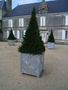 L'atelier Soleil ferronneries -  - Versailles Planter